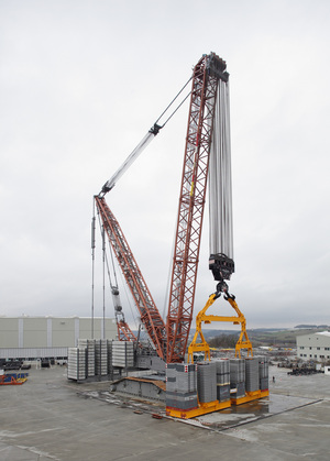 New Lr 13000 Crawler Crane Proved With 3 371 Tonne Test Load