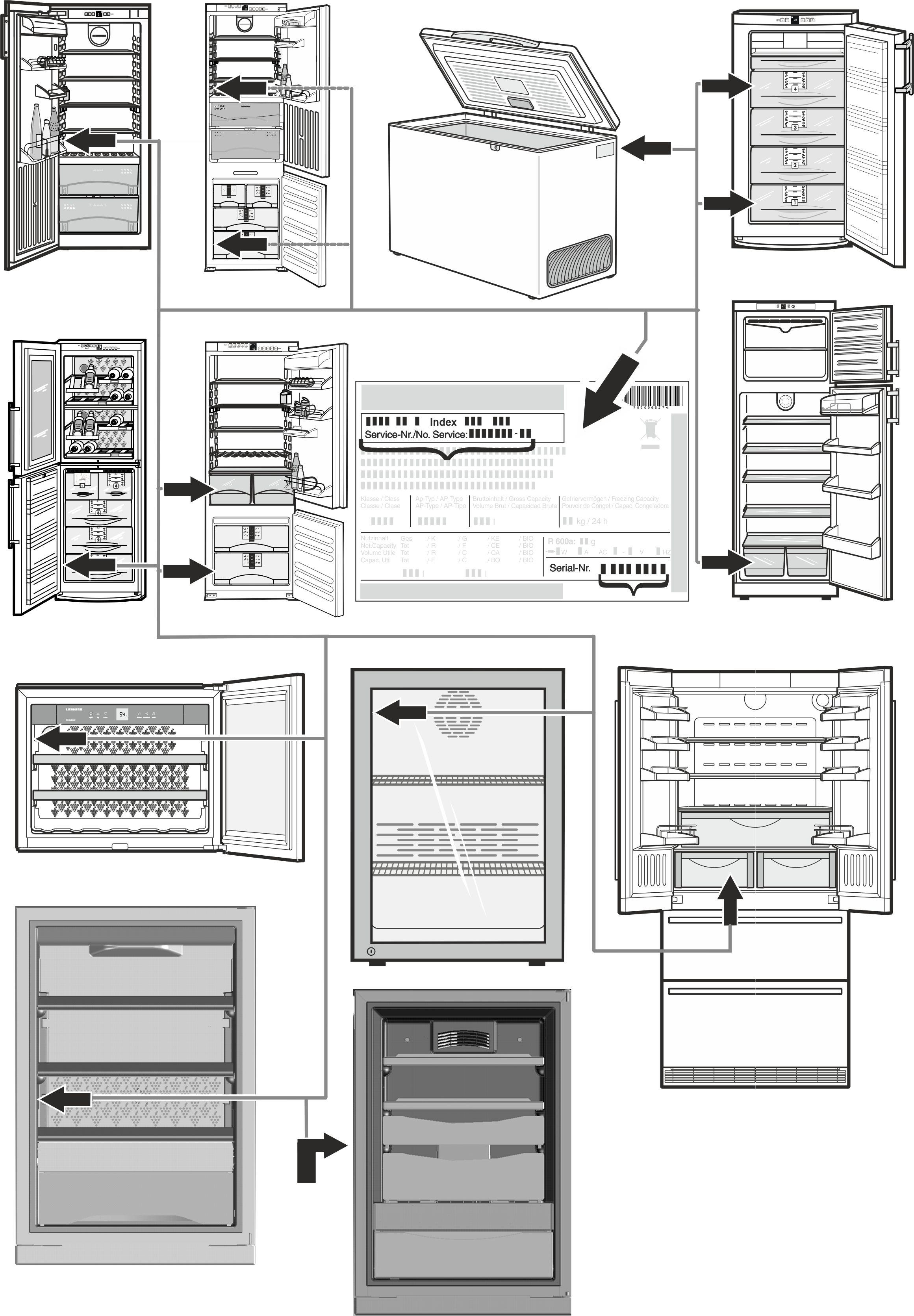 operating instructions rh liebherr us Liebherr Premium Manual No Frost Liebherr Refrigerator Freezer Aircraft