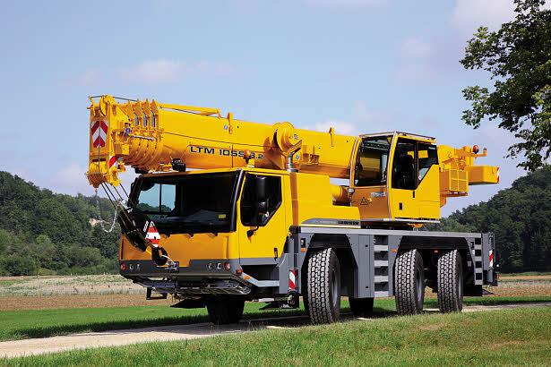 Liebherr mobile crane LTM 1055-3.2 Metric